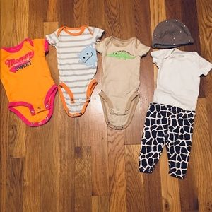 6 piece newborn set